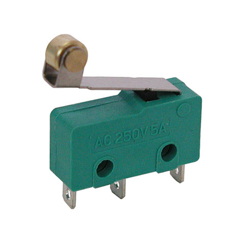 SPDT MINI-SNAP-ACTION SWITCH W/ ROLLER LEVER