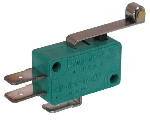10 AMP SNAP-ACTION SWITCH W/ ROLLER LEVER