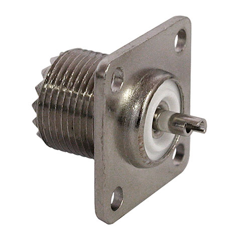 CHASSIS MOUNT UHF CONNECTOR, SO-239
